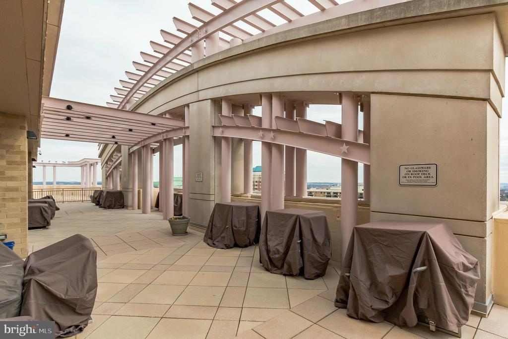 ~Rooftop Terrace with amazing panoramic views - 888 N QUINCY ST #610, ARLINGTON