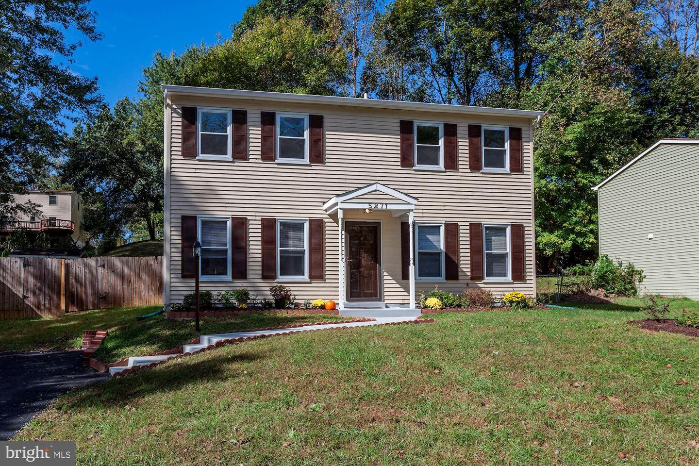 Single Family for Sale at 5271 Sudberry Ln Woodbridge, Virginia 22193 United States