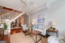 Living Room - Hardwood Floors, Recessed Lighting! - 523 N PATRICK ST, ALEXANDRIA
