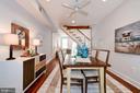 Dining Room - Ceiling Fan! - 523 N PATRICK ST, ALEXANDRIA