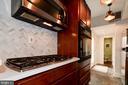Kitchen - Slate Floors, Industrial Light Fixtures! - 523 N PATRICK ST, ALEXANDRIA
