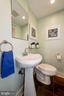 Half Bathroom / Powder Room on Main Level of Home! - 523 N PATRICK ST, ALEXANDRIA