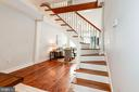 Floating Staircase - an Architect's Dream! - 523 N PATRICK ST, ALEXANDRIA