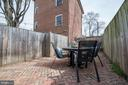 Back Yard - Fully Fenced In, Space for Garden! - 523 N PATRICK ST, ALEXANDRIA