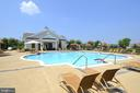 Community outdoor pool - 44482 MALTESE FALCON SQ, ASHBURN