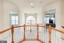 Upper Hall with overlooks and two staircases - 1224 ADMIRAL ZUMWALT LN, HERNDON