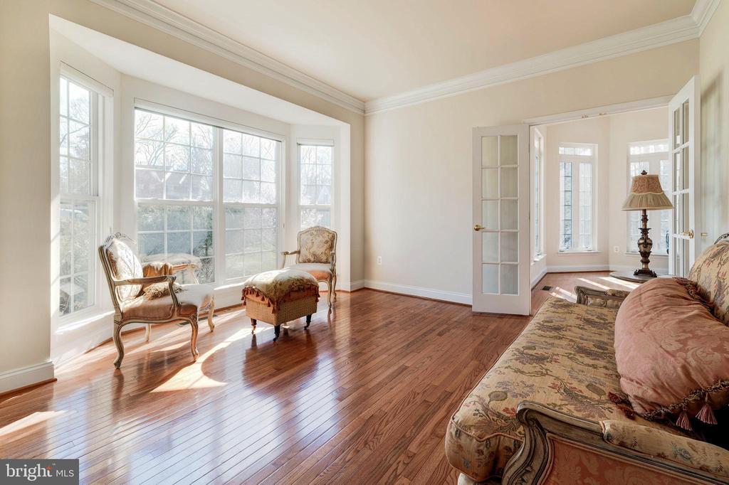 Living Room - 1224 ADMIRAL ZUMWALT LN, HERNDON