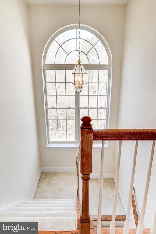 Rear Stairway - 1224 ADMIRAL ZUMWALT LN, HERNDON