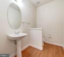Enlarged Powder Room - 1224 ADMIRAL ZUMWALT LN, HERNDON