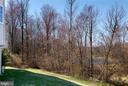 View of Pond and Tress - 1224 ADMIRAL ZUMWALT LN, HERNDON