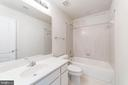 Full Hall Bath - 1224 ADMIRAL ZUMWALT LN, HERNDON