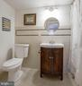 Fully updated lower level full bath - 5755 PILGRIMS REST RD, BROAD RUN