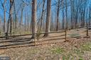 Property line extends well past back fence - 5755 PILGRIMS REST RD, BROAD RUN