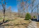Home sits back from road with large front yard - 5755 PILGRIMS REST RD, BROAD RUN