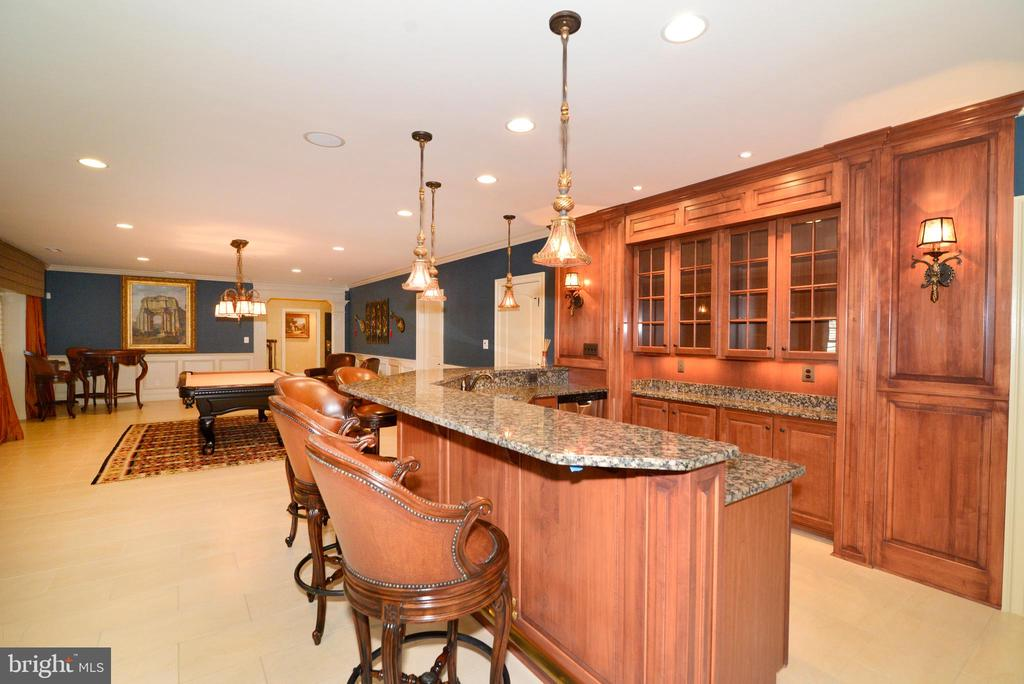 Lower Level Wet Bar - 1635 ADMIRALS HILL CT, VIENNA