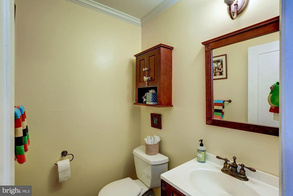Main Level Half Bath - 8441 FORRESTER BLVD, SPRINGFIELD