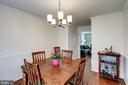 Dining Room - 8441 FORRESTER BLVD, SPRINGFIELD