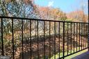 Secluded balcony view. - 5091 7TH RD S #102, ARLINGTON