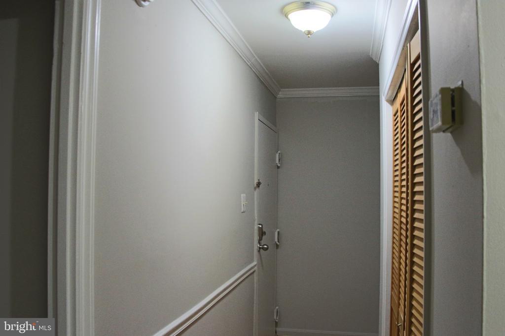Hallway view to front door. - 5091 7TH RD S #102, ARLINGTON