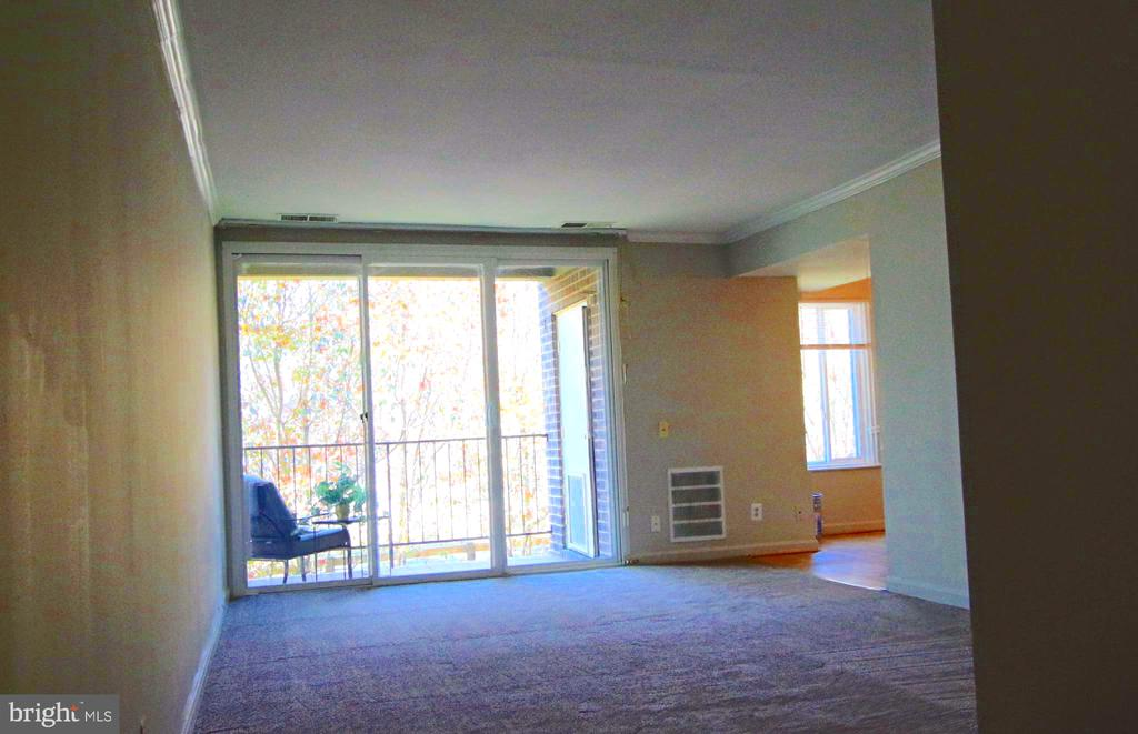 Living room view of nature as you step inside. - 5091 7TH RD S #102, ARLINGTON