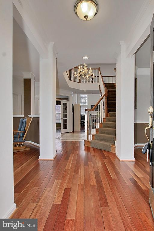 Grand Foyer With Split Staircase - 42669 SILVERTHORNE CT, BROADLANDS