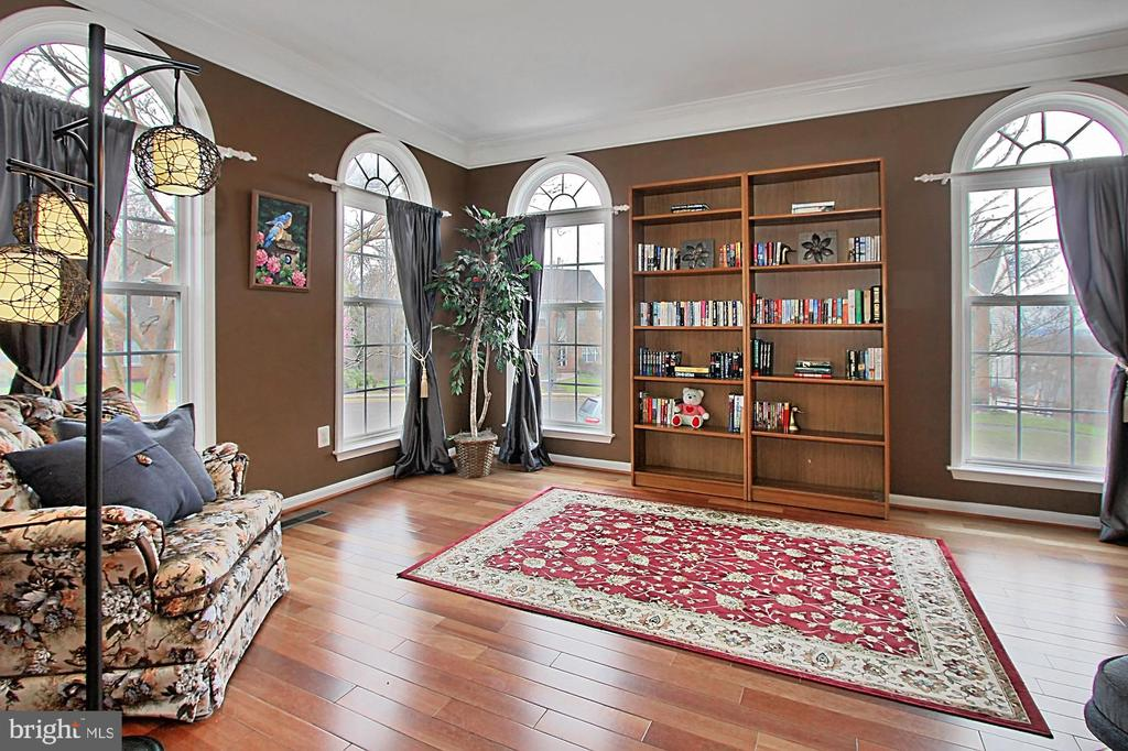 Living Room With Arched Windows - 42669 SILVERTHORNE CT, BROADLANDS