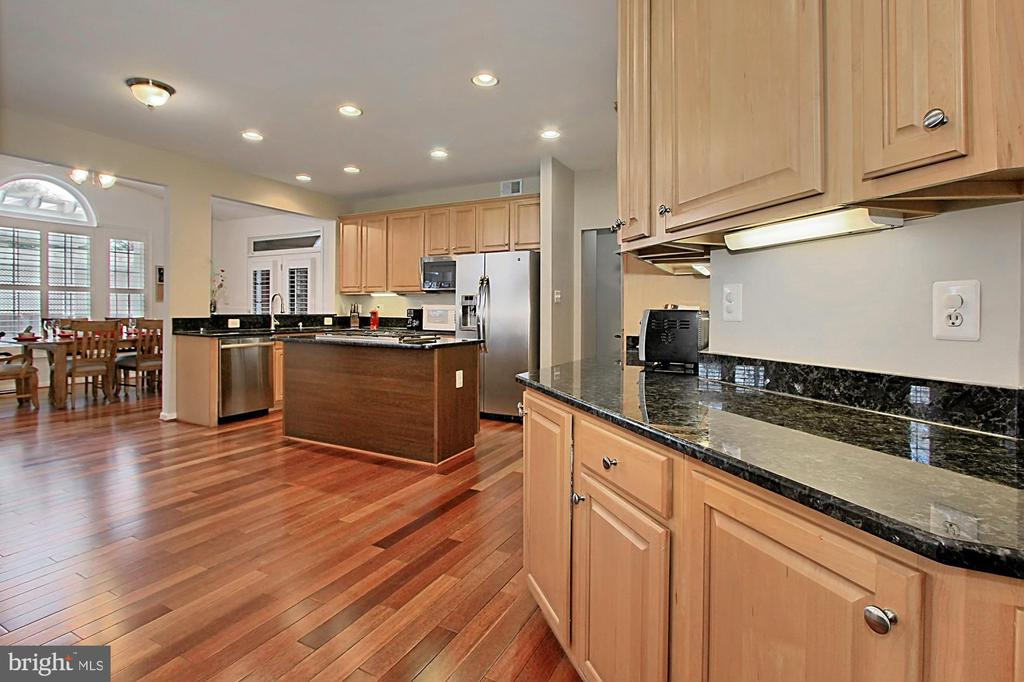 Expansive Gourmet Kitchen - 42669 SILVERTHORNE CT, BROADLANDS