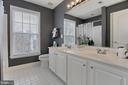 Upper Level Third Full Bathroom - 42669 SILVERTHORNE CT, BROADLANDS