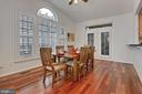 Breakfast Room With Cathedral Ceiling - 42669 SILVERTHORNE CT, BROADLANDS
