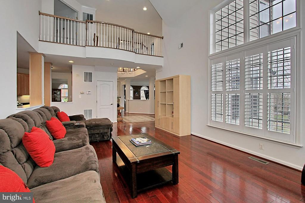 Family Room With Plantation Shutters - 42669 SILVERTHORNE CT, BROADLANDS