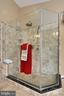 Master Bathroom Glass Enclosed Shower - 42669 SILVERTHORNE CT, BROADLANDS
