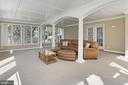 Newly Carpeted Sun Room - 42669 SILVERTHORNE CT, BROADLANDS