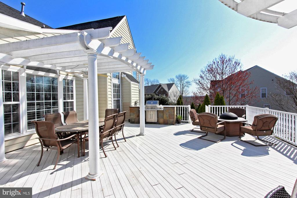 Enjoy The Views From The Rear Deck - 42669 SILVERTHORNE CT, BROADLANDS