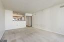 Living Area - 1001 N RANDOLPH ST #417, ARLINGTON