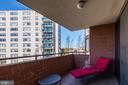 Balcony - 1001 N RANDOLPH ST #417, ARLINGTON
