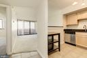 Kitchen / Living Area - 1001 N RANDOLPH ST #417, ARLINGTON