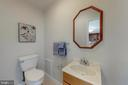 Half Bath Main Level - 7415 JERVIS ST, SPRINGFIELD