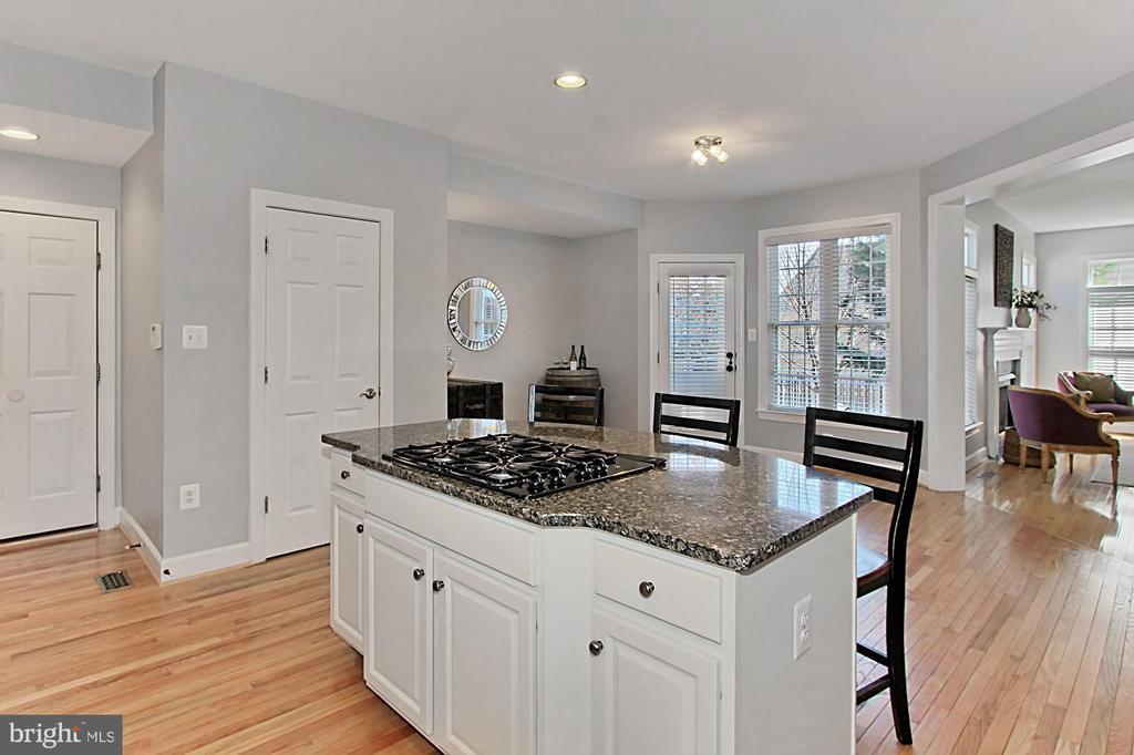 Kitchen large space for a kitchen table - 42603 GOOD HOPE LN, BRAMBLETON