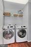 Upstairs laundry - 42603 GOOD HOPE LN, BRAMBLETON