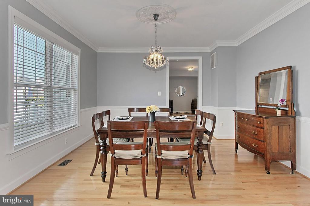 Dining room - 42603 GOOD HOPE LN, BRAMBLETON