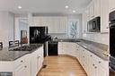 Kitchen with Granite - 42603 GOOD HOPE LN, BRAMBLETON