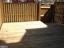 Fenced Deck with Gate - 16299 TACONIC CIR #89F, DUMFRIES