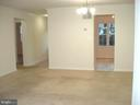 Spacious Dining & Living Room - 16299 TACONIC CIR #89F, DUMFRIES