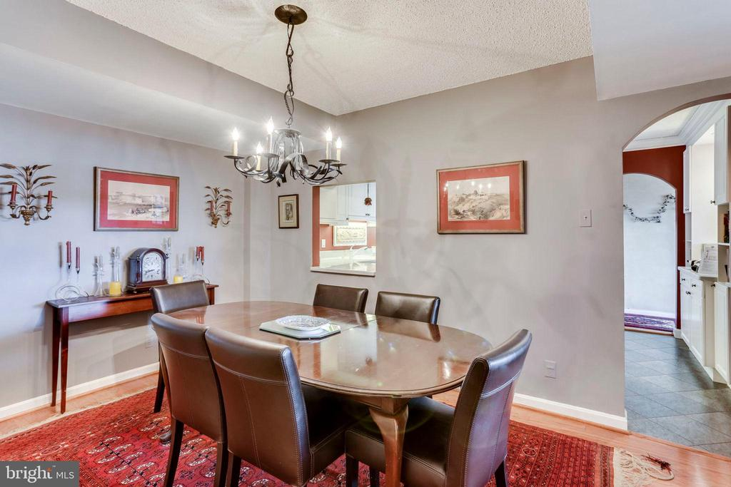 Dining Room - 3800 FAIRFAX DR #1014, ARLINGTON