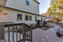 Walk out from sunroom to patio - 5597 CEDAR BREAK DR, CENTREVILLE