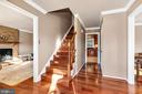 Bright, open floor plan boasting Brazilian hdwd - 5597 CEDAR BREAK DR, CENTREVILLE