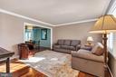 Large living room - 5597 CEDAR BREAK DR, CENTREVILLE