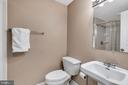 Basement in full bath - 5597 CEDAR BREAK DR, CENTREVILLE
