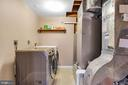 Laundry/storage/utility room - 5597 CEDAR BREAK DR, CENTREVILLE