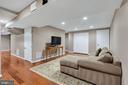Fully finished basement - 5597 CEDAR BREAK DR, CENTREVILLE
